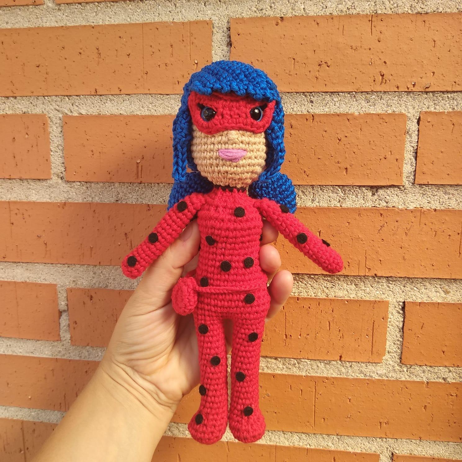 Resultado de imagen para ladybug crochet amigurumi | Patrones ... | 1488x1488